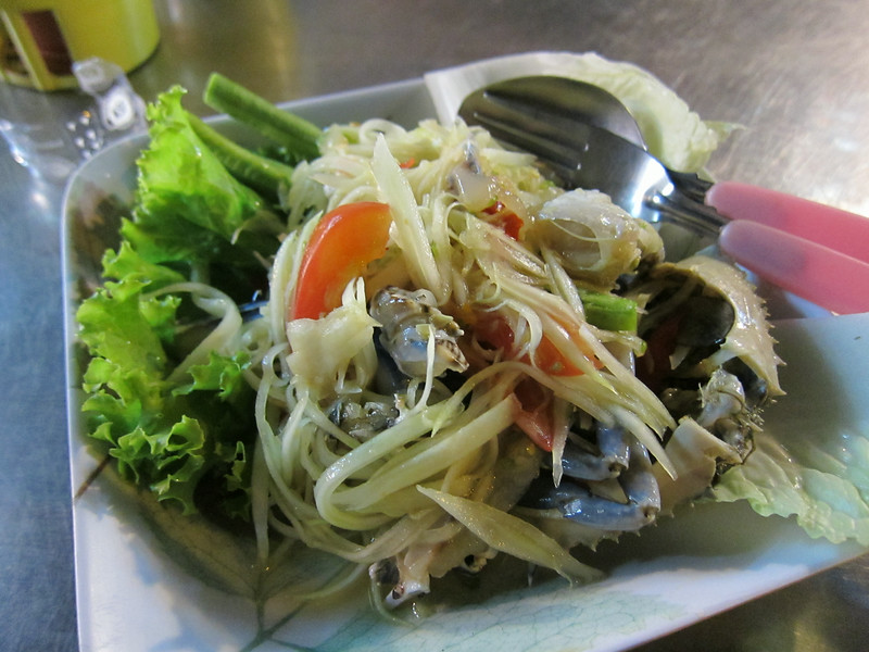 Crab & Papaya salad