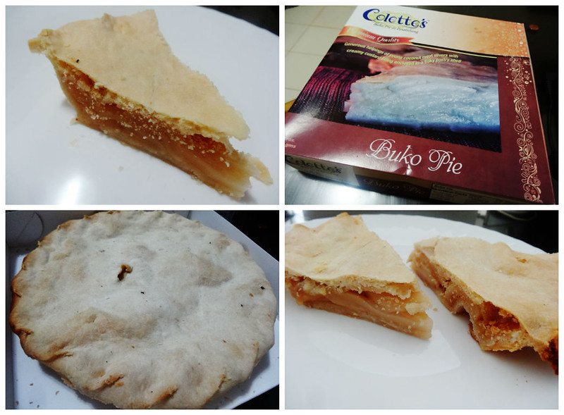 buko pie filipino dish
